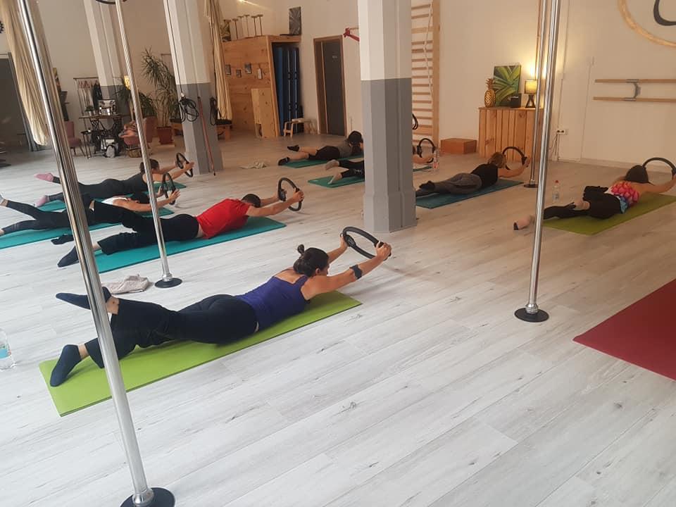 Pilates cours