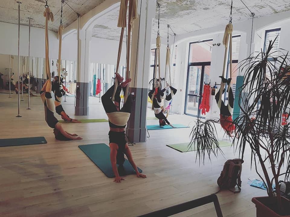 Yoga aerien cours
